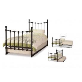Marseilles Black Guest Bed Frame