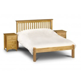 Barcelona Pine Low Foot End Kingsize Bed Frame