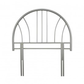 Annabelle Silver Single Headboard
