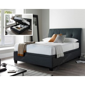 Acclaim Slate Ottoman Storage Bed Frame