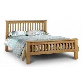 Amsterdam Oak Kingsize Bed Frame