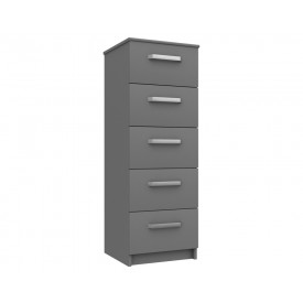 Arden Dust Grey Gloss Tallboy