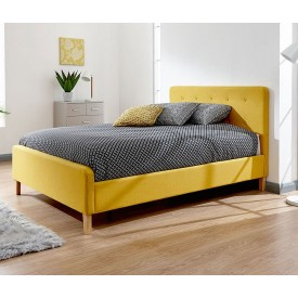 Ashville Bed Frame In Yellow