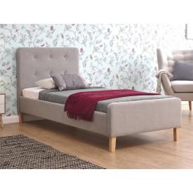 Ashville Bed Frame In Light Grey