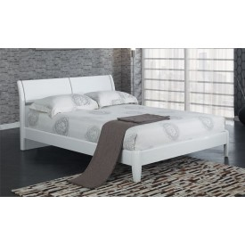 Aztec White Double Bed Frame