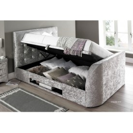 Barney Silver TV Bed Frame