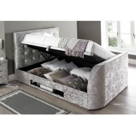 Barney Silver TV Bed Frame