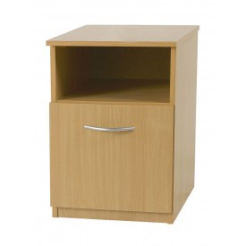 Beech Mode Bedside Locker