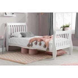 Belham White Wooden Bed Frame