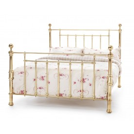 Benjamin Brass Super Kingsize Bed Frame