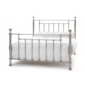 Benjamin Nickel Three Quarter Bed Frame