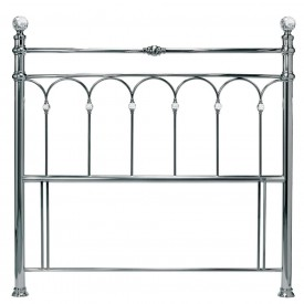 Bentley Designs Krystal Antique Nickel Kingsize Headboard