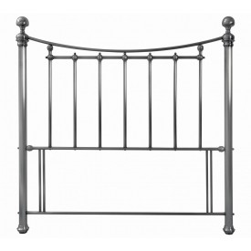 Bentley Designs Isabelle Antique Nickel Double Headboard