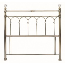 Bentley Designs Krystal Antique Brass Kingsize Headboard