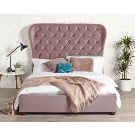 Zak Blush Bed Frame
