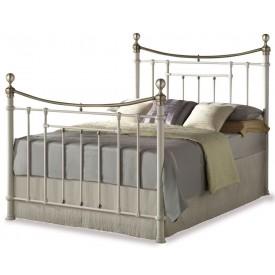 Bronte Cream Kingsize Bed Frame