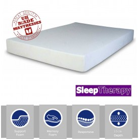 Sleeping Therapy Bronze Memory Three Quarter Mattress