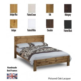 Calto Handcrafted Double Bed Frame