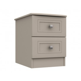 Cambridge Clay 2 Drawer Bedside