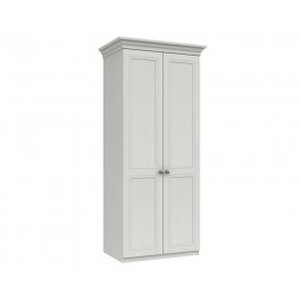 Cambridge White 2 Door Wardrobe