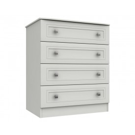 Cambridge White 4 Drawer Chest