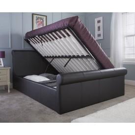 Carol Side Lift Kingsize Sleigh Bed Frame