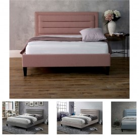 Casso Bed Frame Pink