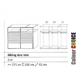 Rauch Celina Sliding Door Wardrobe