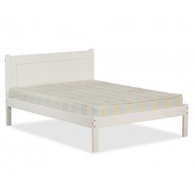 Clifford White Double Bed Frame