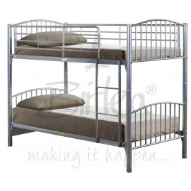Corfu Silver Bunk Bed