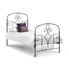 Corsico Black Single Bed Frame