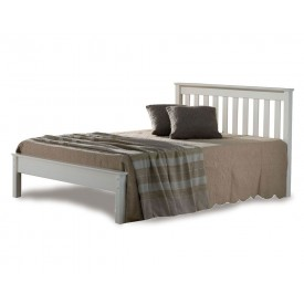 Denmark Low Foot Three Quarter Ivory Bed Frame