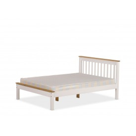 Derbyshire White Three Quarter Bed Frame