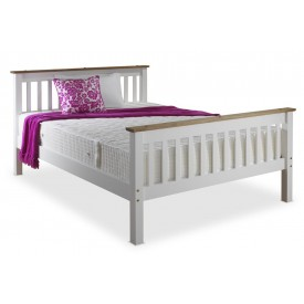 Devonshire White Three Quarter Bed Frame
