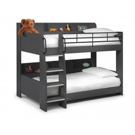 Double Star Grey Bunk Bed