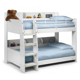 Domino All White Bunk Bed