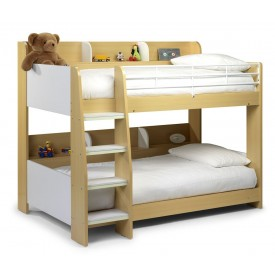 Domino Maple/White Bunk Bed