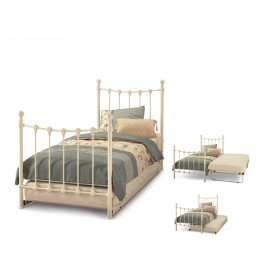 Marseilles Ivory Guest Bed Frame