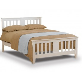 Eagle White Kingsize Bed Frame