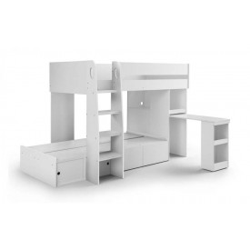 Eternal White Bunk Bed