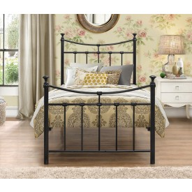Emily Black Single Bed Frame
