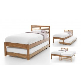 Hesther Honey Oak Guest Bed Frame