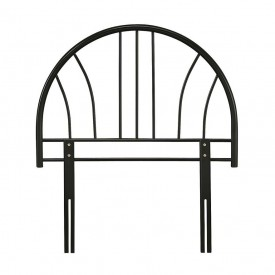 Annabelle Black Single Headboard