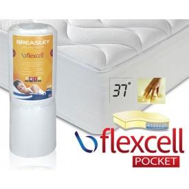 Flexcell 1000 Pocket Memory Sleep Cool Super King Mattress
