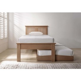 Hank Oak Guest Bed Frame