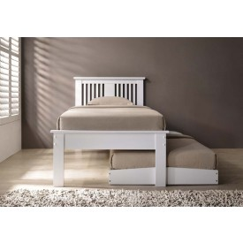 Hank White Guest Bed Frame
