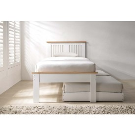 Hank White And Oak Guest Bed Frame