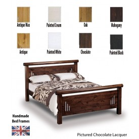 Hamish Rail End Handcrafted Double Bed Frame