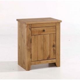 Havana Rustic Pine Bedside Cabinet