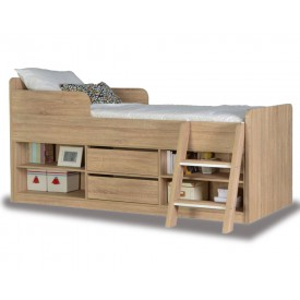 Helix Oak Cabin Bed